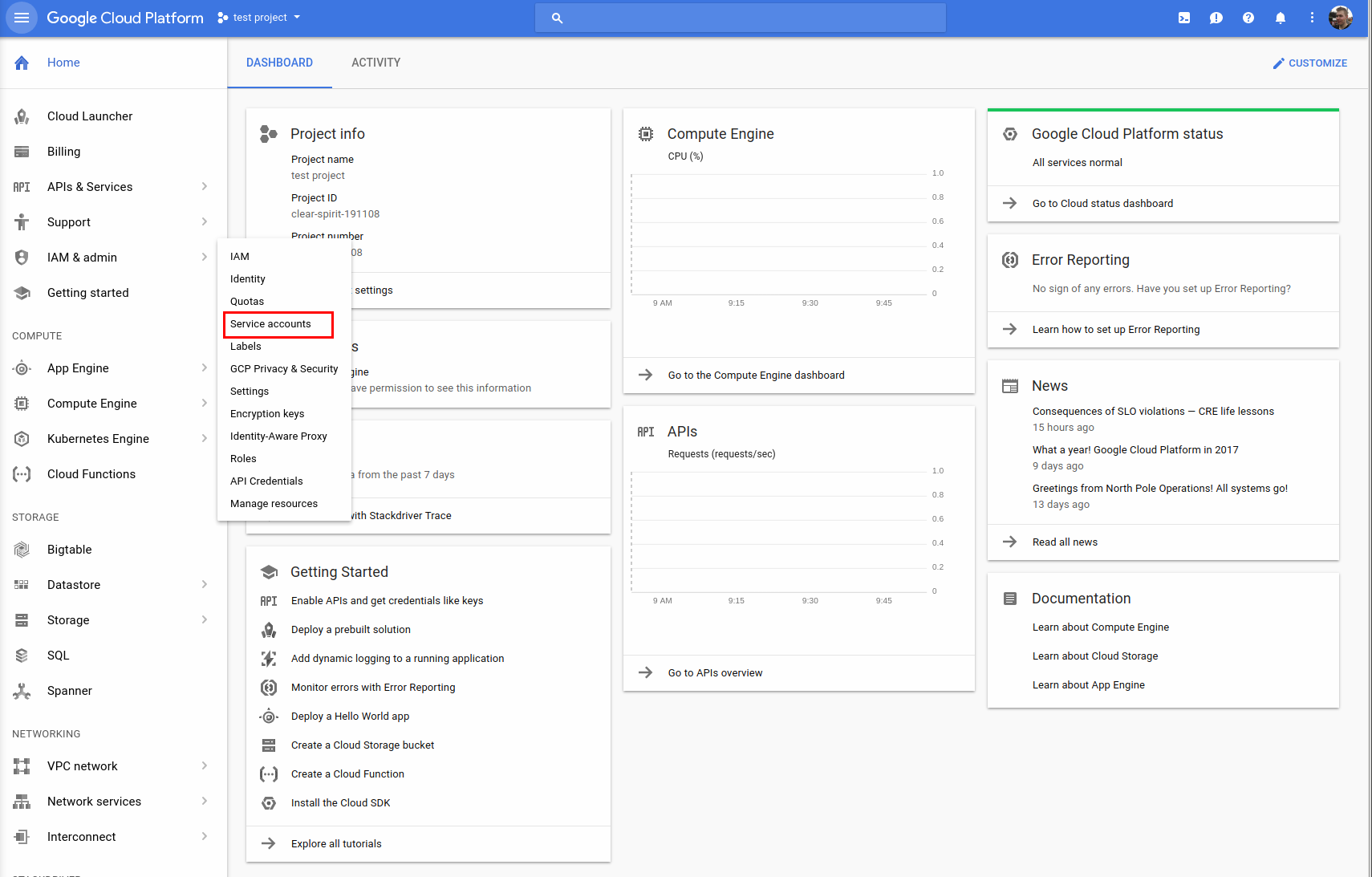 Google Compute Engine Driver Documentation — Apache Libcloud 2 5 1